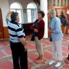 Turist Gjerman vizitojne xhamin e qytetit te Pukes