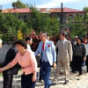Deputeti i LSI per qarkun Shkoder merr persiper rindertimin e xhamise Rrypë