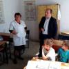 Myftiu i Pukes zhvillon nje vizite ne shkollen e fshatit Kabash