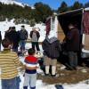Gjate shperndarjes se ushqimeve ne fshatin Xathe