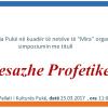 "Njoftim:Me dt.25.3.2017 Myftinia Puke organizon simpoziumin ""Mesazhe Profetike"""