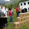 Per familjet ne nevoj Myftinia Puke shperndan pako me ushqime ne Iballe dhe Flet