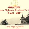 """Simpozium: """"Mejtepet e Myftinise Puke dhe Roli i Tyre"""" 11.11.2017"""