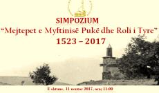 """Njoftim: Me 11.11.2017 zhvillohet ne Puke simpoziumi """"Mejtepet e Myftinise Puke dhe Roli i Tyre"""""""