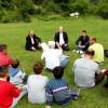 Myftiu i Pukes Gezim Kopani zhvillon takim me besimtaret ne fshatin Flet