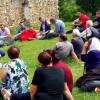 Myftiu i Pukes Gezim Kopani zhvillon takim me besimtaret mysliman ne fshatin Xathë