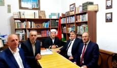 Myftiu i Pukes priti ne takim delegacionin e Bashkesise Islame te Kosoves
