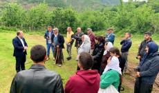 Myftiu i Pukes Gezim Kopani zhvilloj nje takim me besimtaret ne fshatin Kabash