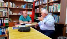 Myftiu i Pukes Gezim Kopani priti ne nje takim perfaqesuesit e shoqates Sulejmanie