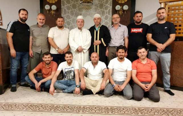 Myftiu i Pukes Gezim Kopani takim ne qendres islame Dai Gjermani