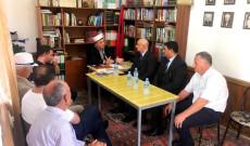 Myftiu i Pukes Gezim Kopani pret ne nje takim zyrtare Ambasadorin e Kuvajtit ne Shqiperi