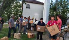 Ndihmohen disa familje ne prag te festes se Kurban Bajramit