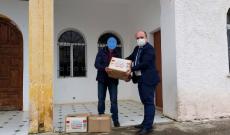 Myftinia Puke me mbeshtetjen e shoqates Istanbul shperndau ushqime per disa familje