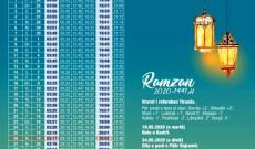 Njoftim: Me 24 prill 2020 fillon muaji Ramazan