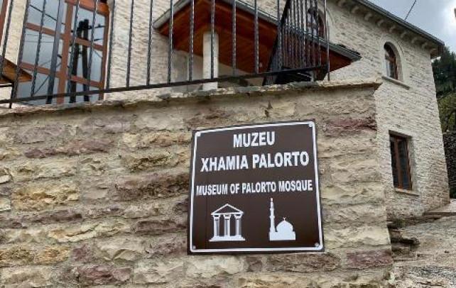 KMSH hap Muze Islam ne xhamin e Palortos – Gjirokaster