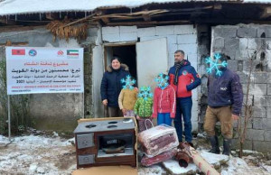 Myftinia Puke ndihman disa famije ne fshatin Blerim dhe Trun