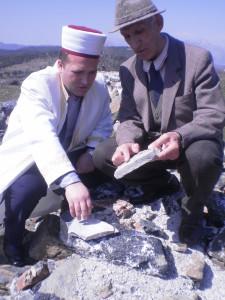 Myftiu i Pukes Gezim Kopani me Prof.Xhemal Meçi