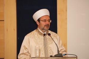 Komunitetit Mysliman të Turqisë, prof.dr. Mehmet Gormez