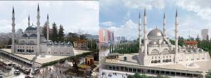 Projekti i xhamise se madhe te Tiranes.