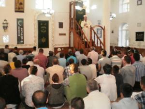 Fotografi nga falja e namazit te Kurban Bajramit 25 tetor 2012