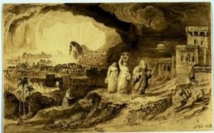 Ilustirm. Ngjarje qe ka ndodhur ne kohen e Lutit a.s.