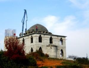 Xhamia e fshatit Qerret, 01 nentor 2013