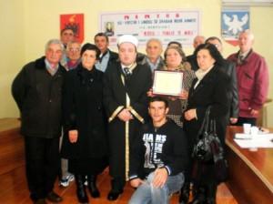 """Gjate promovimit te librit """"Shaban Rexhe Ahemti, Njeriu i puneve te mira"""" 27 nentor 2013"""