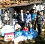 Ne familjen Istrefi ne fshatin Dedaj. 29.12.2013