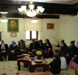 Gjate bisedes , tek Medreseja H.Sh.Shamia Shkoder. 26.1.2014