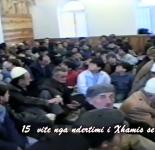 Fotografi nga falja e Bajramit dt.29.01.1998 Xhamia e re Puke.