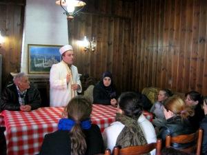 Myftiu Gezim Kopani takim me grat myslimane te F.Arrezit. 07.2.2015