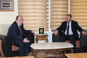 Myftiu Gezim Kopani gjate vizites ne KBI Prizren (21.4.2015)