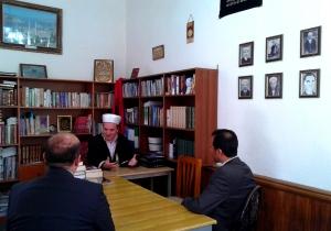Atasheu Kuvatjan vizite ne Myftinin e Pukes. 21.6.2015