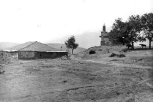 Xhamia e Koder Hanit Puke. Fotografi e vitit 1916