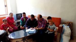 Strehimi ne nje shtepi meqera per familjen e Xh.Llukes, 2016