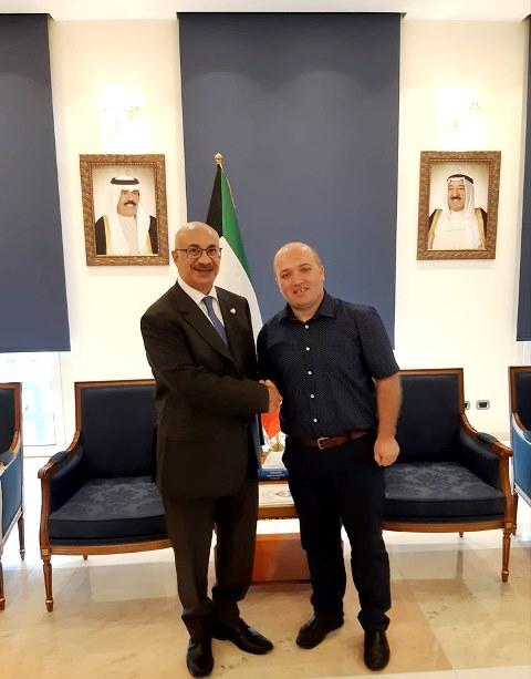 TakimAbasadori-i-Kuvajtit-Shqiperi