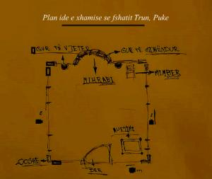 Ide, Planimeteri e xhamise se fshatit Trun, Blerim. Bashkia Fushe Arrez